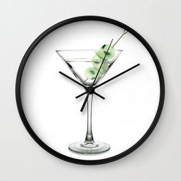 Martini UFO Wall Clock