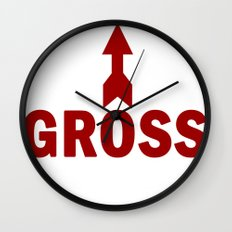 Gross Wall Clock