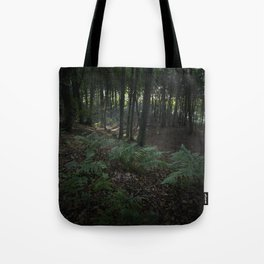 Ferns in the forrest Tote Bag