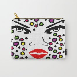 Spotted Glam Carry-All Pouch