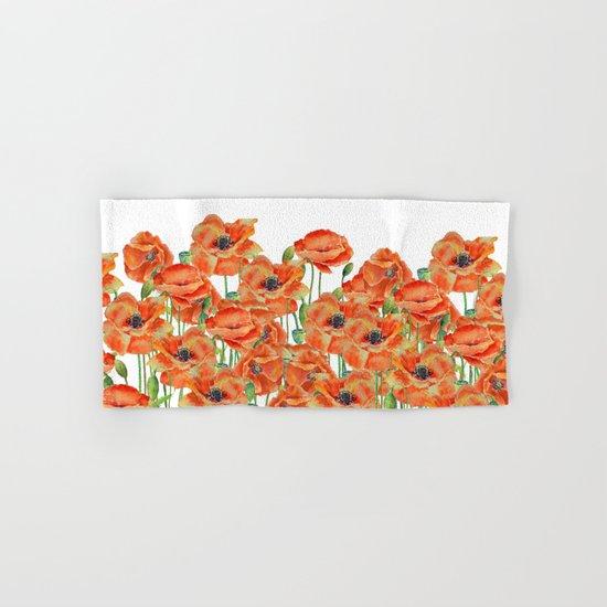 poppy field Hand & Bath Towel