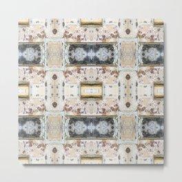 176 - Vintage bricks pattern Metal Print