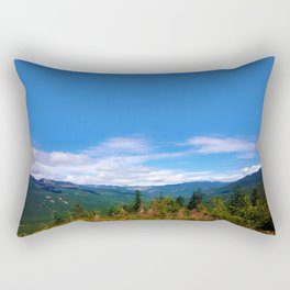 Northern Cascade Sky Rectangular Pillow