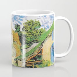Vincent Van Gogh Village Street in Auvers 1890 Coffee Mug