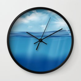 Come, Swim with me - series - Wall Clock