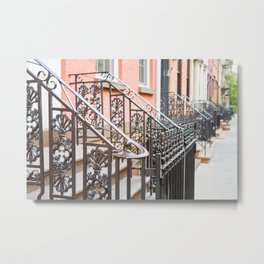 One Day in New York Metal Print