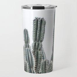 Minimalist Cactus Travel Mug