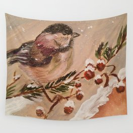 Nuthatch Wall Tapestry
