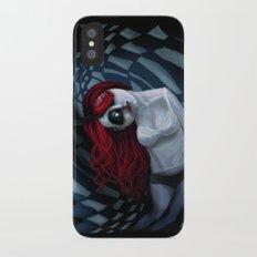 the dark side of my mind hurts Slim Case iPhone X