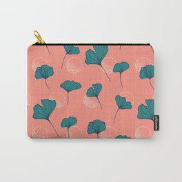 Bright Ginkgo & Dots #society6 #decor #buyart Carry-All Pouch