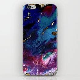 Brendon Urie abstract synesthetic painting iPhone Skin