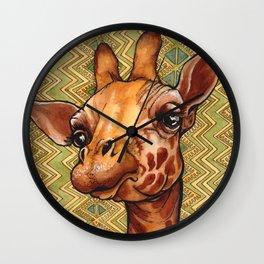 Deanna's Giraffe Wall Clock