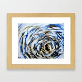 The Eye of the Storm Framed Art Print