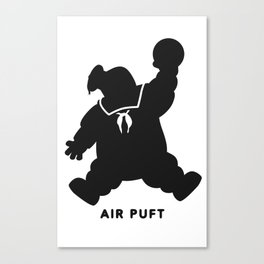 Air Puft: Stay Puft Marshmallow Man Canvas Print