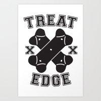 Treat Edge Art Print
