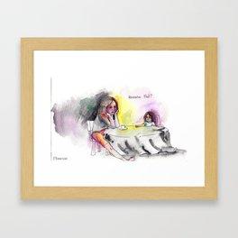 Reminiscing Framed Art Print