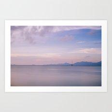 Koh Samui Sunset Art Print