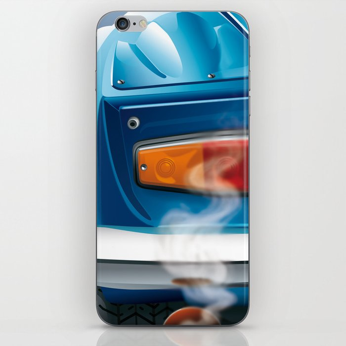 Renault Alpine A110 from 1962 iPhone Skin