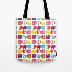 Textured Apples Tote Bag