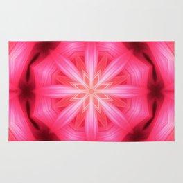 Heart Star Mandala Rug