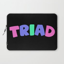 Triad (Trigender) Laptop Sleeve