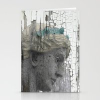 grace Stationery Cards featuring Grace by The Strange Days Of Gothicrow