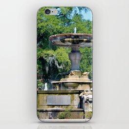 Kenan Memorial Fountain iPhone Skin