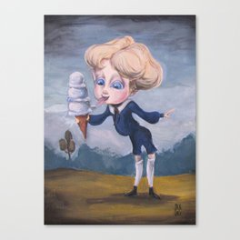 Other Blue Boy Canvas Print
