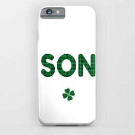 Luckiest Son Ever St. Patricks Day Lucky Irish iPhone Case