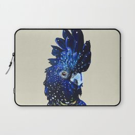 """Amelia"" The Red Tailed Cockatoo Laptop Sleeve"