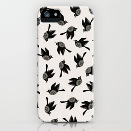 Blackbirds Flying iPhone Case