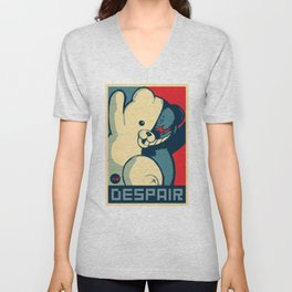 Monokuma: Vote For Ultimate Despair. A Danganronpa design Unisex V-Neck