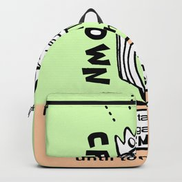 My New Crown - Zine Page Backpack