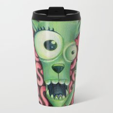Monster 1: Floyd. Metal Travel Mug