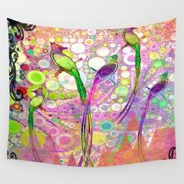 BATIK BIRDS Wall Tapestry