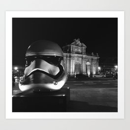 Imperial Madrid Art Print
