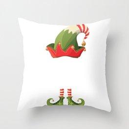 THE SEND NUDES Elf Family Matching Xmas Throw Pillow