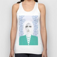 army Tank Tops featuring Army Girl by EISENHART