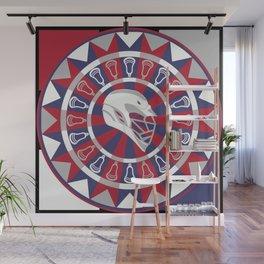 Lacrosse Shakey Dartboard Wall Mural