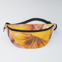Yellow Lilies In The Garden #decor #society6 #buyart Fanny Pack