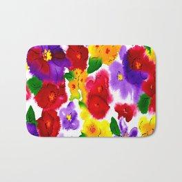 flower abstract Bath Mat