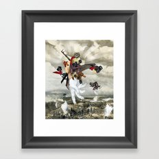 Mingadigm | Let There Be Light (XL) Framed Art Print