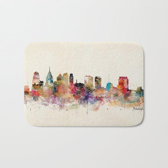 philadelphia pennsylvania Bath Mat