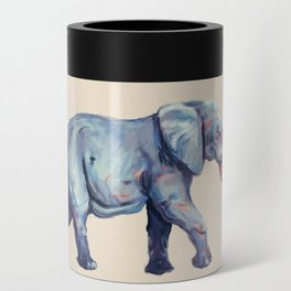 Lucky Elephant Painting Can Cooler