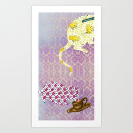 Chinese Lunar New Year and 12 animals  ❤  The MOUSE 鼠 Art Print