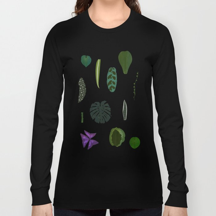 A non-scientific botanical investigation of the indoor plant. Long Sleeve T-shirt