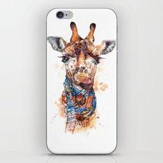 Giraffe female iPhone & iPod Skin