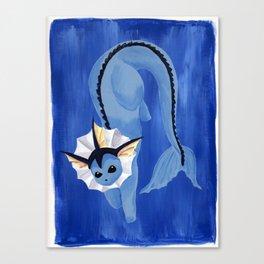 Showers (Vaporeon)  Canvas Print