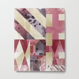 Geometric Pattern 001 Metal Print
