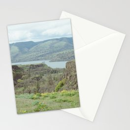 Tom McCall Preserve Looking Out at The Columbia River Gorge Stationery Cards